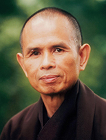 thich nhat hanh, mindfulness, peace, joy, happiness, plum village